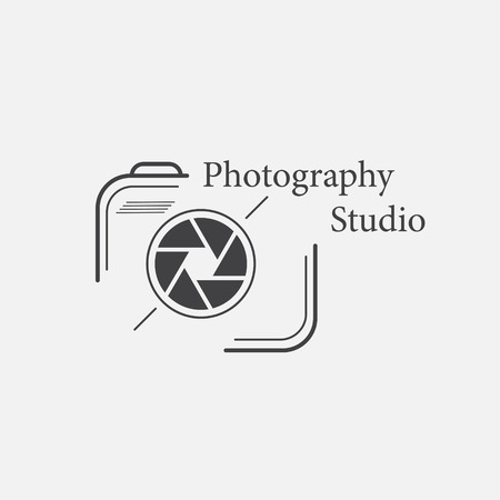 photography logo: Vector of photography logo templates. Illustration