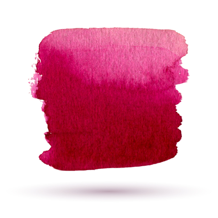 watercolor red, purple abstract background Ilustração