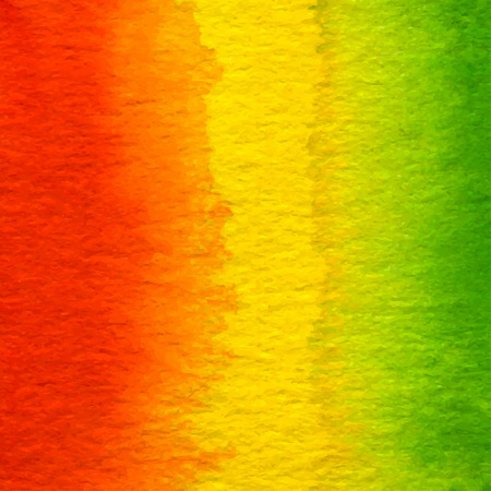 watercolor red, yellow, green abstract background