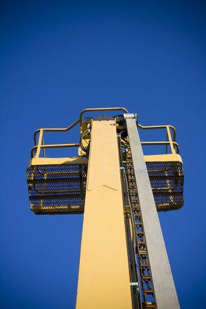 Mobile crane Фото со стока