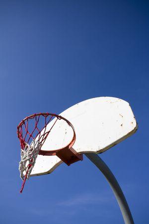 Old basketball hoop Stock Photo - 5168391