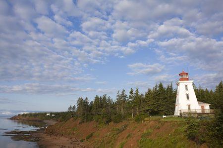 Lighthouse overlooking Cape Bear PEI
