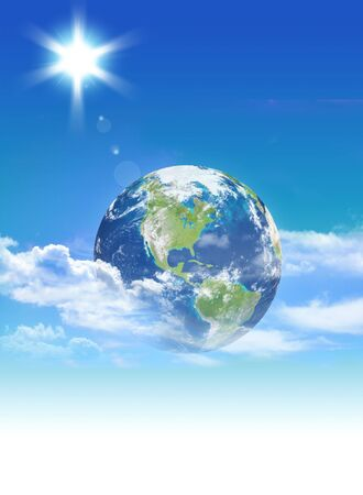 Earth in the sky