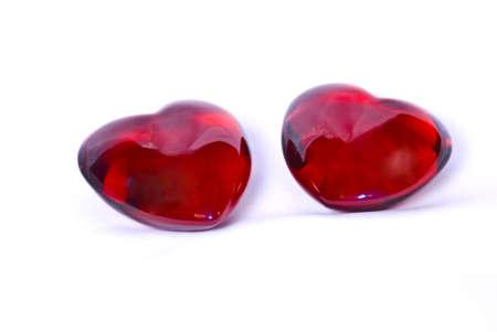 Dieses 2 Herzen k�nnen als Liebesbeweis wie auch ein Liebesgest�ndnis wirken. Oder aber auch als Liebessymbol darstellen. These 2 hearts can work as a dear proof as well as a dear confession. Or, however, also explain as a dear symbol. photo