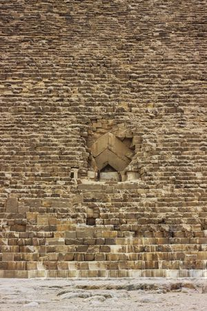 Tthe Great Pyramid in the Egypt. Tomb photo