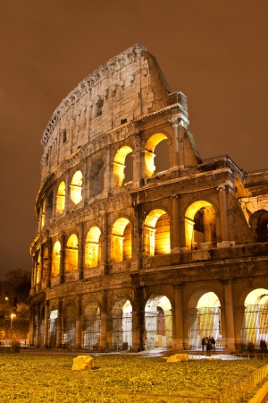 iconic: The Iconic, the legendary Coliseum of Rome, Italy
