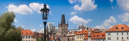 Prague city, one of the most beautiful city in Europe. Charles Bridge Stock Photo - 13796594