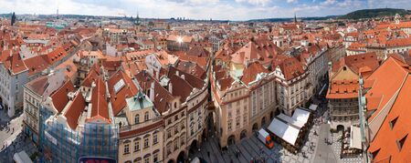 Prague city, one of the most beautiful city in Europe. Panorama. Stock Photo - 13911177
