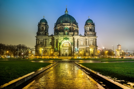 Berliner Dom, is the colloquial name for the Supreme Parish and Cathedral Church in Berlin. Is parish church of Evangelical Church of Berlin Brandenburg Silesian Upper Lusatia. photo