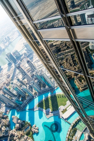 dubai city: DUBAI, UAE - NOVEMBER 14 : Dubai downtown day scene with city lights, luxury new high tech town in middle East, United Arab Emirates architecture