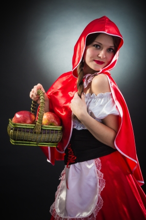 Beautiful woman in carnival costume isolated on black Stock Photo - 19405404