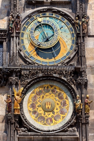 Astronomical Clock. Prague. Czech Republic  photo