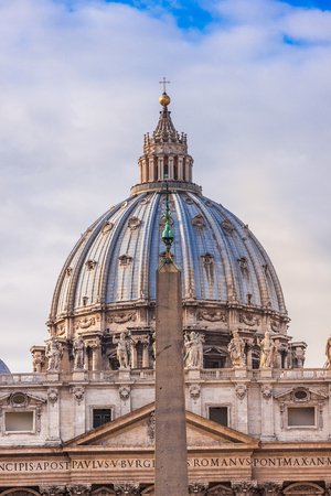 St. Peters Basilica, St. Peters Square, Vatican City. photo
