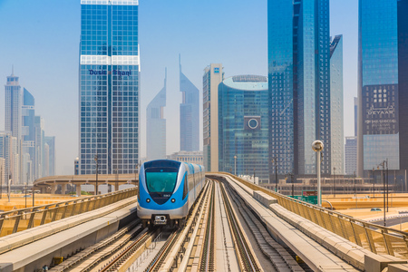 DUBAI, UAE - NOVEMBER 14 - The construction cost of the Dubai Metro project has shot up by about 80 per cent from the original US$ 4.2 billion to US$ 7.6 billion on November 14, 2012.