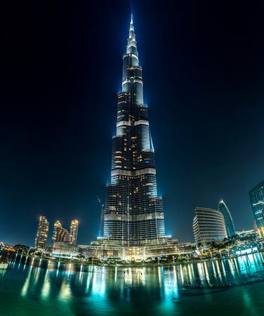 tallest: DUBAI, UAE - NOVEMBER 13: Burj Khalifa on November 13, 2012 in Dubai, UAE. Burj Khalifa is currently the tallest building in the world, at 829.84 m (2,723 ft).