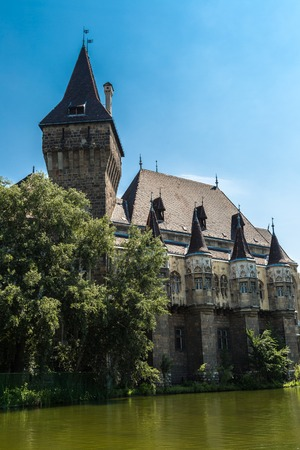 millennial: Vajdahunyad castle in Budapest. It was built between 1896 and 1908 as part of the Millennial Exhibition Editorial