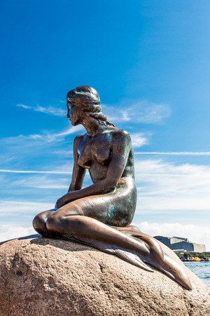 sculpture: Monument of the Little Mermaid in Copenhagen, Denmark