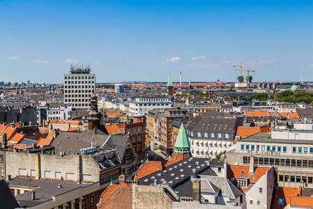 Copenhagen City, Denmark, Scandinavia. Beautiful summer day photo
