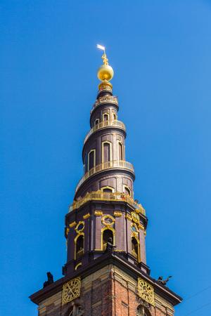 saviour: Vor Frelsers Kirke. Church of Our Saviour in Copenhagen, Denmark