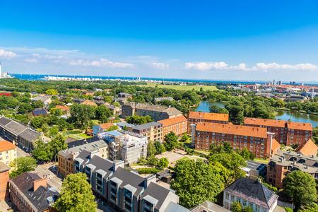 Copenhagen City, Denmark, Scandinavia. Beautiful summer day