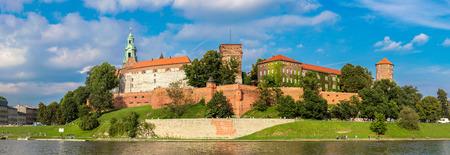 wawel: The Wawel castle in Kracow. Panoramic view