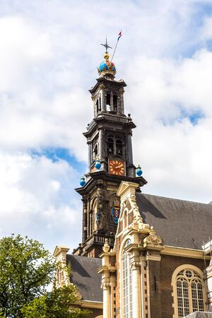 westerkerk: Westerkerk in Amsterdam. Amsterdam is the capital and most populous city of the Netherlands