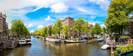 Amsterdam is the capital and most populous city of the Netherlands Stock Photo