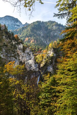 neuschwanstein: Bridge of Mary  in Germany