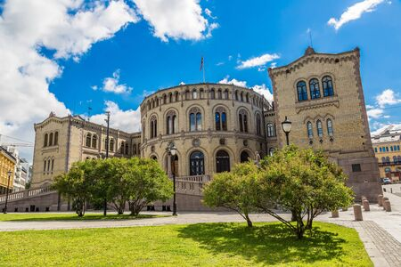elected: Oslo parliament has 169 members, and  elected every four years. Norway