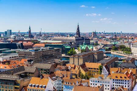 Copenhagen City, Denmark, Scandinavia. Beautiful summer day Stock Photo