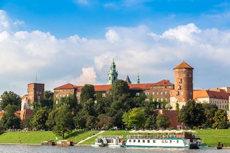 polska monument: The Wawel castle in Kracow in Poland