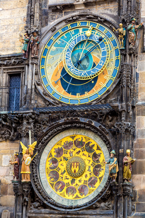 astronomical: Astronomical Clock. Prague. Czech Republic Stock Photo