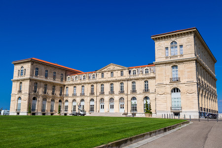 du: Palais du Pharo in a summer day  in Marseilles, France Stock Photo
