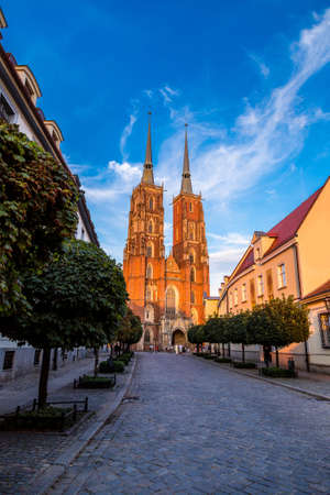 wroclaw: Cathedral of St. John in Wroclaw, Poland