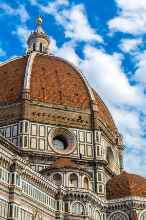 Santa Maria del Fiore in Florence in a summer day, Italy