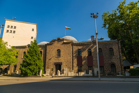 sofia: Archaeological Museum in Sofia, Bulgaria in a summer day