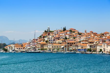 poros: Poros island in a summer day in Greece