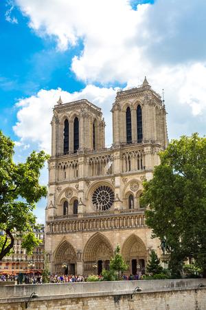 Notre Dame de Paris is the one of the most famous symbols of Paris