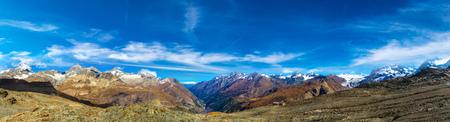 alp: Alps mountain landscape in a beautiful day in Switzerland