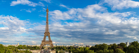 paris france: Eiffel Tower most visited monument in France and the most famous symbol of Paris