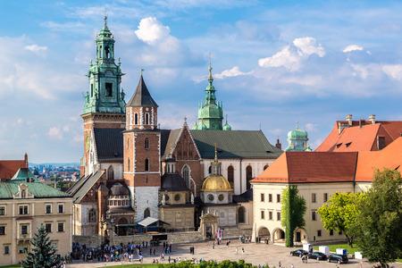 wawel: Wawel cathedral on Wawel Hill in Krakow, Poland