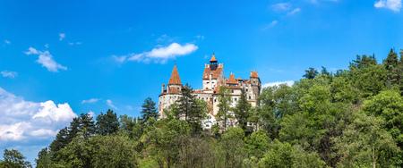 bran: Bran castle in a summer day in Transylvania, Romania
