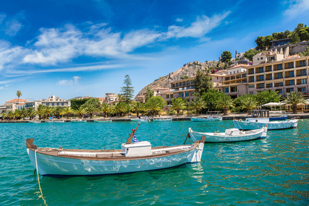 nafplio: Greece, Nafplion in a beautiful summer day Stock Photo