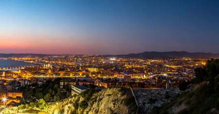 View of Chateau dIf in Marseille in France