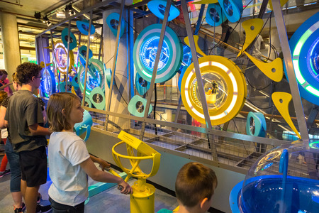 nemo: AMSTERDAM, THE NETHERLANDS - JUNE 16, 2016: Science Center NEMO - science educational museum    in Amsterdam in a beautiful summer day, The Netherlands on June 16, 2016 Editorial