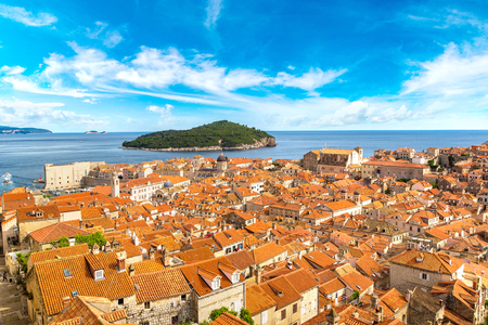 Old city Dubrovnik in a beautiful summer day, Croatia