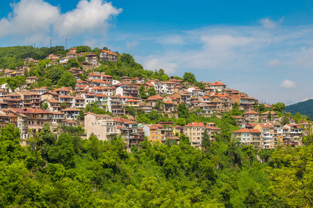 veliko: Veliko Tarnovo in a beautiful summer day, Bulgaria