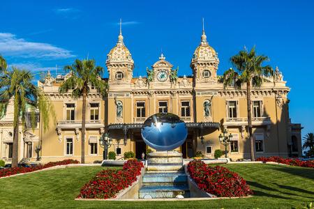 The grand casino in Monte Carlo in a beautiful summer day, Monaco
