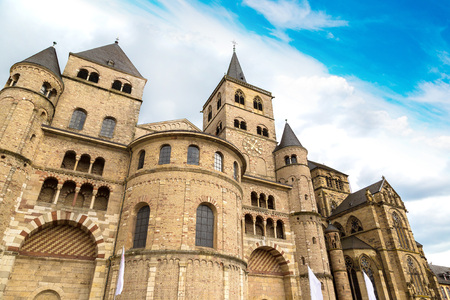 Cathedral of  Trier in a beautiful summer day, Germany