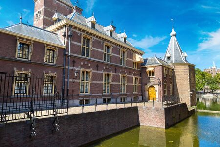 Binnenhof Palace, Dutch Parlament in Hague in a   beautiful summer day, The Netherlands